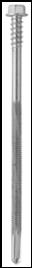 Kotvení opláštění budov - samovrtný šroub pro ocelové konstrukce