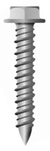 Kotvení opláštění budov - šroub pro betonové konstrukce