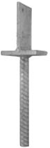 Spojovací materiál pro dřevostavby - patka sloupu profil T