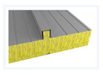 Sendvičové panely - Sendvičový panel s jádrem z minerální vlny - střešní