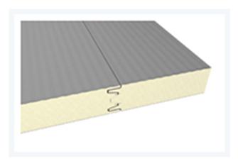 Sendvičové panely - Sendvičový panel chladírenský s polyuretanovým jádrem - stěnový