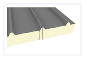 Sendvičové panely - Sendvičový panel s polyuretanovým jádrem - střešní