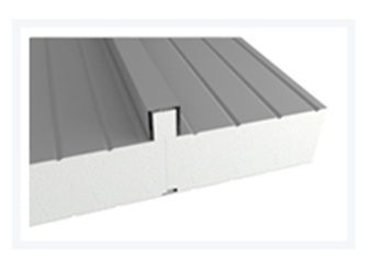 Sendvičové panely - Sendvičový panel s polystyrénovým jádrem - střešní