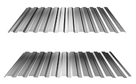 Trapézové plechy - trapézový plech - T 12