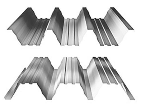 Trapézové plechy - trapézový plech - T 135