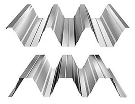 Trapézové plechy - trapézový plech - T 153
