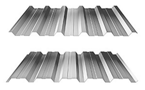 Trapézové plechy - trapézový plech - T 35