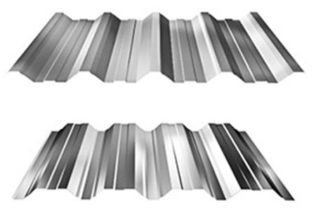 Trapézové plechy - trapézový plech - T 50