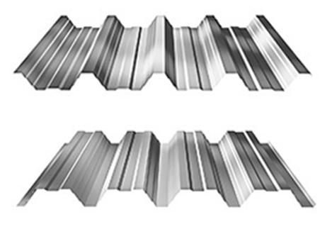 Trapézové plechy - trapézový plech - T 62